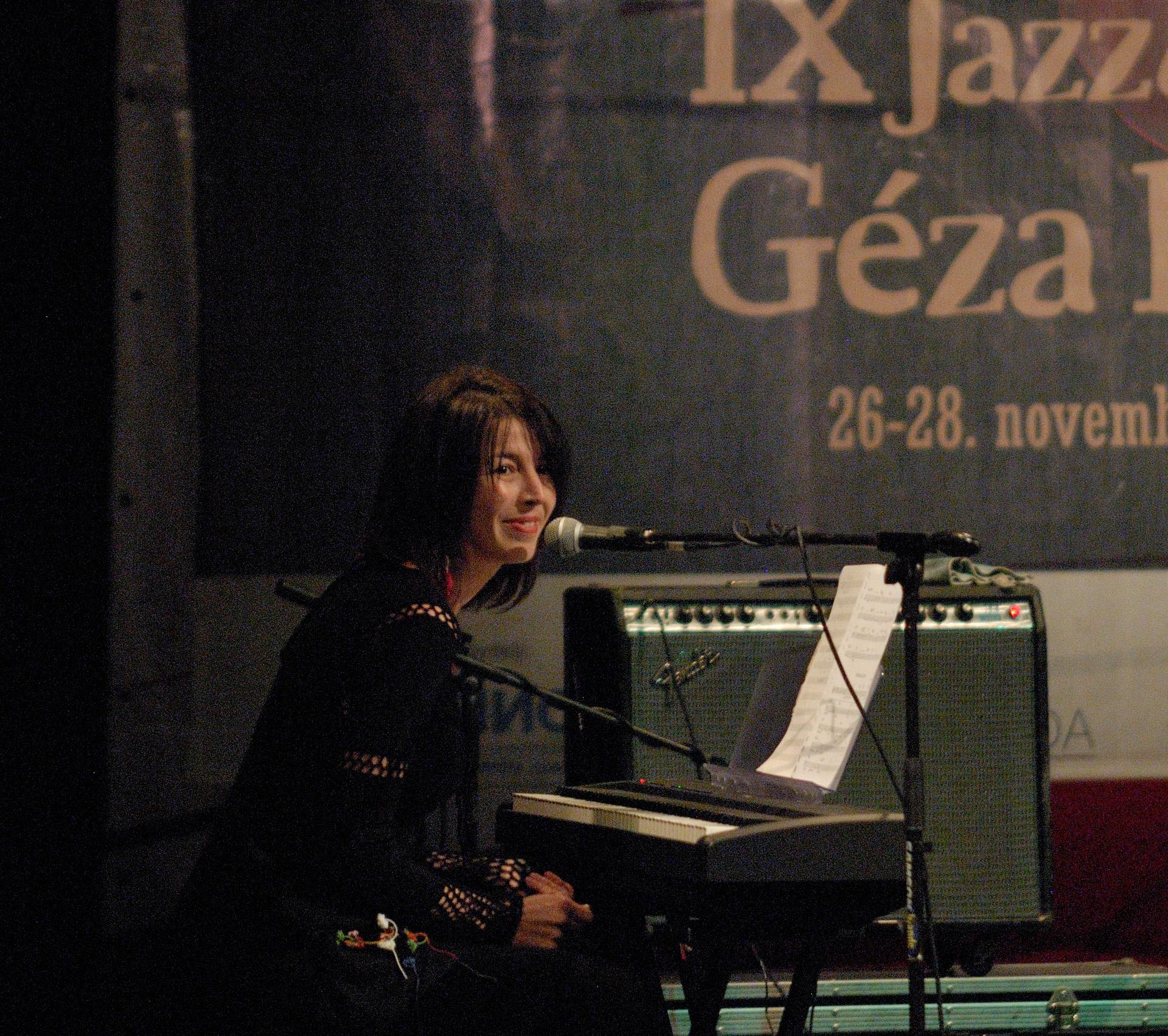 Blues and jazz festival Geza Balasz - Gari, Kikinda 2010.
